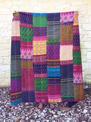 Silk Kantha Blankets